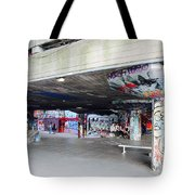 The Queen's Skatepark Tote Bag