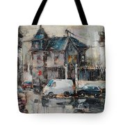 The Quiet District Tote Bag