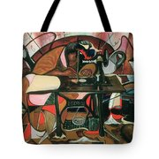 The Quilt Lady Tote Bag