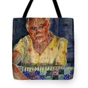 The Quilter Tote Bag