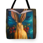 The Rabbit Story Tote Bag