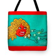 The Spermatozoes Race. Tote Bag