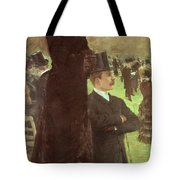 The Races At Auteuil Tote Bag