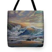 The Radiant Sea Tote Bag