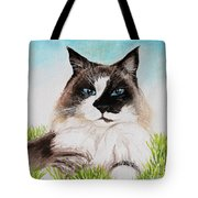 The Ragdoll Tote Bag