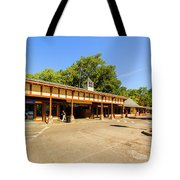 The Railroad Station In Scarsdale Tote Bag