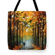 The Rain Is Gone Tote Bag