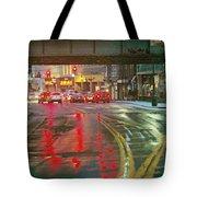The Rain Painting Tote Bag