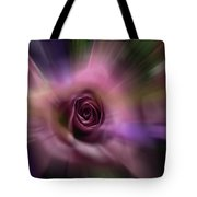 The Rainbow And The Rose No 2 Tote Bag by Wayne King