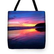 The Rainbow Blues Tote Bag