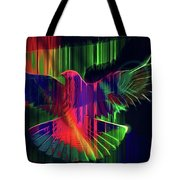 The Rainbow Dove  Tote Bag