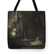 The Raising Of Lazarus Tote Bag