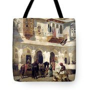 The Rajah Starting On A Hunt Tote Bag
