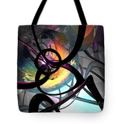 The Randomness Of It All Abstract Tote Bag