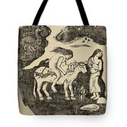The Rape Of Europa Tote Bag