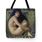The Rape Of Lady Liberty Tote Bag