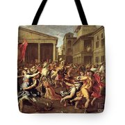 The Rape Of The Sabines Tote Bag