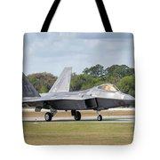 The Raptor Returns - 2017 Christopher Buff, Www.aviationbuff.com Tote Bag