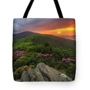 The Rare Light Of Sunset  Tote Bag