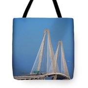 The Ravanel Bridge In Charleston Tote Bag