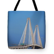 The Ravanel Bridge In Charleston Tote Bag