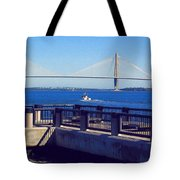 The Ravenel Bridge Tote Bag
