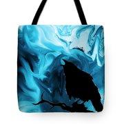 The Raven's Blues Tote Bag