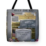 The Real Billy The Kid Tote Bag