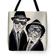 The Real Blues Brothers Tote Bag