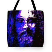 The Real Face Of Jesus Tote Bag