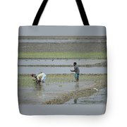 The Real Hero Working In The Field Tote Bag