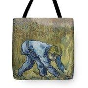 The Reaper After Millet Saint Remy De Provence, September 1889 Vincent Van Gogh 1853  1890 Tote Bag