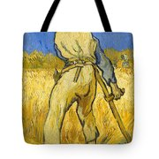 The Reaper Tote Bag by Vincent van Gogh