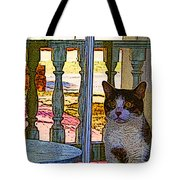 The Rear Window Tote Bag