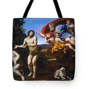 The Rebuke Of Adam And Eve Tote Bag