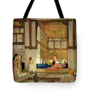The Reception Tote Bag by John Frederick Lewis