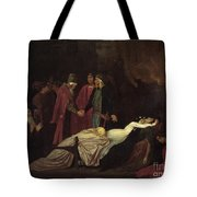 The Reconciliation Of The Montagues Tote Bag