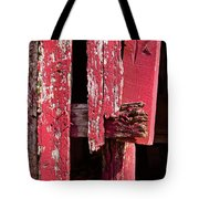 The Red Barn 4 Tote Bag