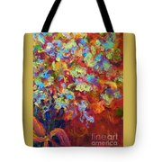 The Red Bouquet Tote Bag