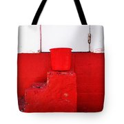 The Red Bucket Tote Bag