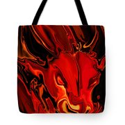 The Red Bull Tote Bag