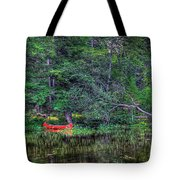 The Red Canoe Tote Bag