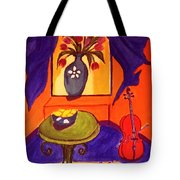 The Red Cello Tote Bag