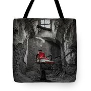 The Red Chair Tote Bag