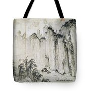 The Red Cliff Tote Bag