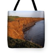 The Red Cliffs Of Prince Edward Island Tote Bag