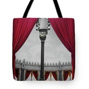 The Red Curtain Tote Bag
