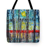 The Red Dock Tote Bag