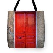 The Red Door. Tote Bag
