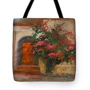 The Red Door - Catalina Island Tote Bag